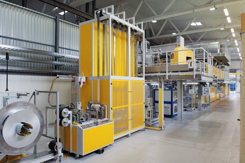 Plasma system for coil coating - Griesser overall system