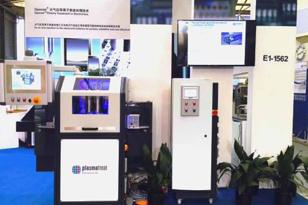 Productronica China 2016 Plasmatreat Scores With Led Lead